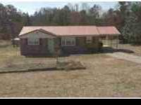 3br 2 ba home located off 183 and white hore road in