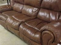 Very nice all leather Couch purchased from Ashley