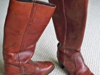 Leather Boots - Ladies tall Dexter (made in the USA)