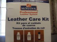 i have a brand new leather care kit from mohawk. (m