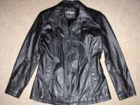 New black leather vests size 14(L) & XXL ladies