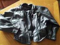 this is a Wilsons leather short wasted ladies small