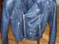 Wilsons mens leather coat size small. $30 call