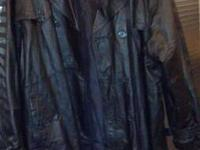 Three leather coats 25.00 ea     Size 2x   and   3x