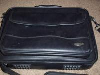 I am selling my leather computer bag.  It is in good