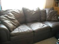 We are looking to sell our leather couch. Have bought