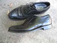 A very good pair of leather dress shoes. 10 1/2 D  Jim
