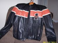 Leather Harley Davidson Jacket Size: Medium Excellent