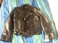 I have a guys leather jacket dont want it it is new im