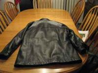 this was a $300 Wilsons leather jacket. i have kept it