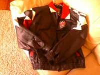 I HAVE A LEATHER JACKET THAT HAS COORS LIGHT RACING ON