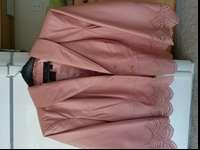 BEAUTIFUL DESIGNER NAME LEATHER JACKET - SIZE 1X,