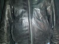 Planet Hollywood Las Vegas soft leather jacket. Size