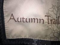 Autumn Trails leather jacket size large very nice