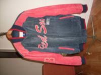 Size Med. runs large, Red Soxs offical Gear Purchased