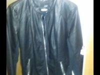 Leather jacket size Large perfect condition, I have