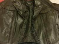 Leather King leather jacket in excellent condition