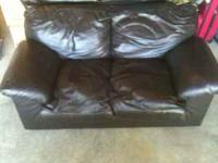 I have two Black Leather love seat call  $300 each