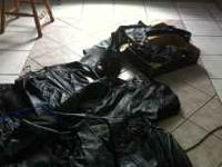 Leather Harley Davidson Jackets and chaps, leather