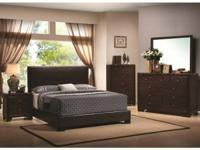 queen size leather padded beds only $199. coffee or