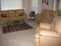 I have leather sofa that has reclining seats on either