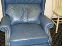 Leather Recliner Made By Berkline   $75 (60/40 Furniture.