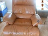 Rocker Recliner.  Some wear but still VERY