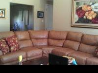 Leather Sectional   $1000 (Ocean Springs)
