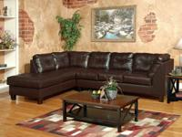 NEW LEATHER SECTIONALS STARTING AS LOW AS $698!!!! WHY