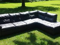 We are selling our brown leather sectional sofa. Was