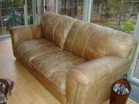 Black Bonded Leather Sofa For Sale In Portland Oregon