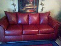 I am selling my like new sofa and loveseat it comes