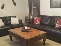 Matching Sofa & Love Seat  Color: Dark Expresso