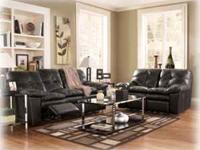 Reclining Leather Sofa & Loveseat Set $795 Retails