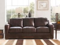 I have a leather couch and love seat that's a little