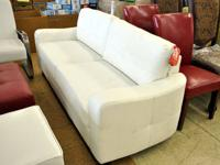 2 Piece Bonded Leather Living Room Sofa with Chaise ?