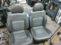 Pretty nice leather bucket seats from a more recent SUV