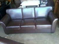MOVING SALE. No smoke and No pet home. Leather Suede