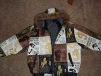 brand new tupac leather jacket. size 3x. asking $200