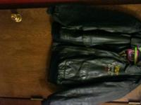 The Miller Genuine Draft jacket is size Large and is