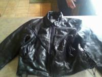 Leather woman coat and liner size xl. MENS XL. MENS 4XL