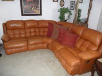 Up for sale is a like new Contemporary Leather