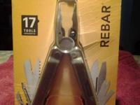 Still in the box! Leatherman Rebar. Comes with case. $