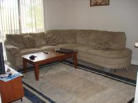 Description Living Room Set: 5 seat sofa, coffee table,