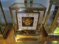 "LeCoultre Atmos Clock 9 1/4"" Tall x 8 1/4"" Wide  Very"