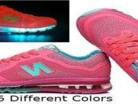 Led Running shoes. Changes to six different colors or