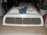 "LEER Camper Shell with raised roof 6'1"" wide by 8'3"""