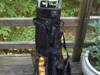 For sale: set of ProTactic LEFT HAND clubs. Includes