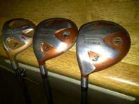 Left-Handed and in great condition: TaylorMade Burner 3
