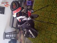 2009 left handed Burner irons pw-4i 3wood, Driver and